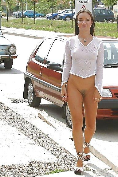 image Fake taxi lady in pink underwear gets creampied