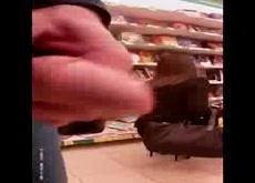 Flash cum in supermarket 12