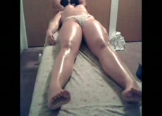 Oil massage for Another lady with happy ending