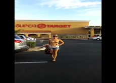 Topless at Target