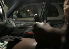 Car Cum Flash Great Reaction