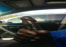 Car dick flash for mature woman
