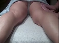 wife with masseur on hidden cam