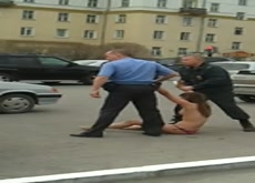 Arrested Topless Nude In Public