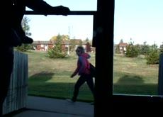 Window Flash Neighbor Exhibitionist