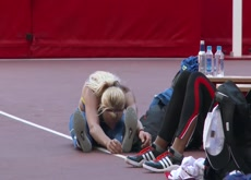 Anastasiya Mokhnyuk top heptathletes amazing stretching for high performance