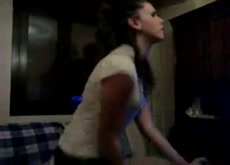 Spanish girl masturbating