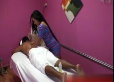 Asian Massage Room Fuck!!