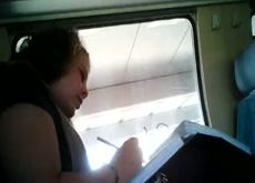 Train Dickflash Public Cumshot Exhbitionist