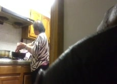 Flashing Chinese Roommates Mother mix