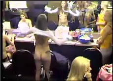 Hacked Strip Club  Security Cam