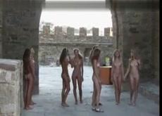 Teen Nudist Club Walk 2