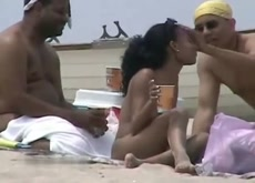 Voyeur - Little Beach Hottie Making Dicks Hard