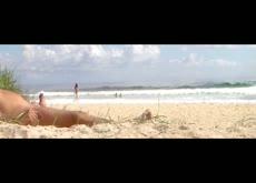 Beach flash 3 teens