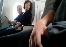 Airplane Dickflash