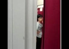 Indoor Dressing Room Dickflash Exhibitionist