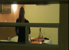Voyeur's Neighbor is a Fucking Freak