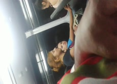 3 girls in bus