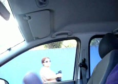 Car Dickflash Public Nudity Exhibitionist