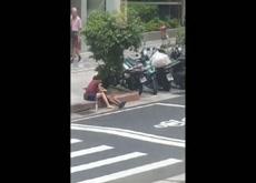 handjob on street