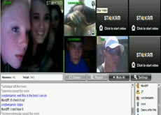 stickam girls reaction