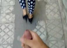 Cum on Iranian Girl