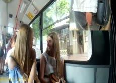 Flash Teens on Bus