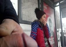 Bus STop Dickflash