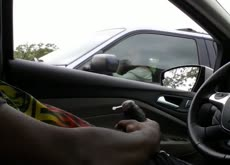 Cum for Milf in Car