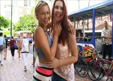 Melody & Lena Exposed in Waikiki Part1- Sexxarts