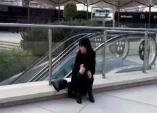 Asian Girlfriend Fapping in Europe