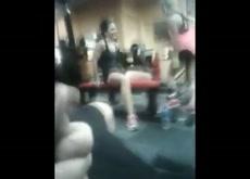 Gym Dickflash