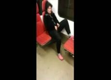 caught masturbating in subway