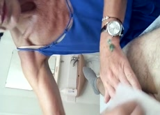 Mature Dick Wax 1