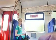Flash Teen on Train