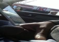 Car Flash Black Lady