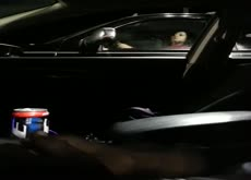 Cum for Lady in Car