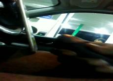 Car Flash Black Girl