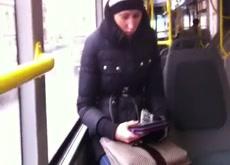 Bus dickflash Public Nudity Exhibitionist