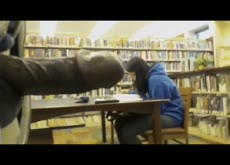Library Flash Cum for Asian Teen