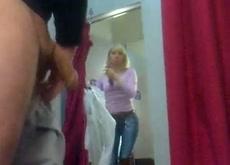 dressing room dick flash