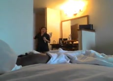Hotel Maid Dickflash Caught Naked Exhibitionist