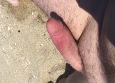 Beach Dick Flash Milf and Friends 6