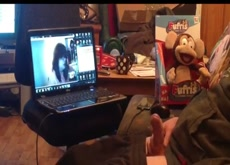 Video Chat Flash with Older Neighbor