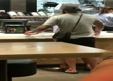 Caught in McDonalds
