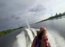 Public Jet Ski Fuck and Cum