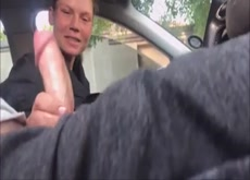 Car Flash Teen Handjob