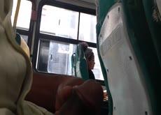 Brazilian Bus Girl Likes the Flash