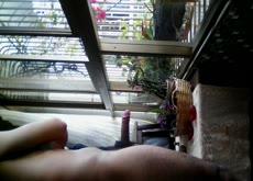 Flashing at balcony