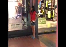 Caught - She Couldn't Wait Un til She Got Home